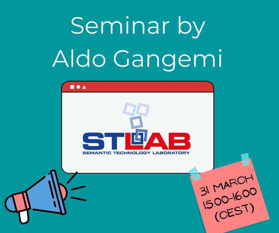Seminar by Aldo Gangemi